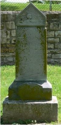 Stojan Stipanovic's grave site.